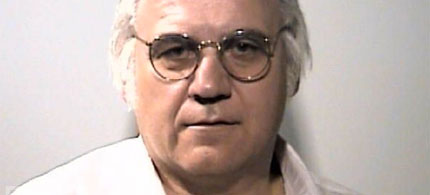 Mug shot, former member of Congress from Ohio and convicted felon, James Traficant, 07/30/02. (photo: Summit County Jail/Getty)