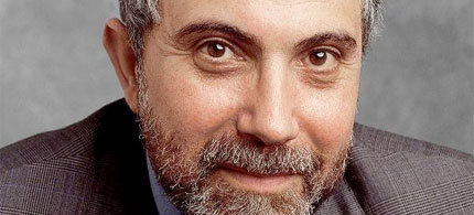 Portrait, New York Times columnist Paul Krugman, 06/15/09. (photo: Fred R. Conrad/NYT)