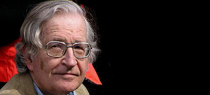Noam Chomsky. (photo: Indymedia)