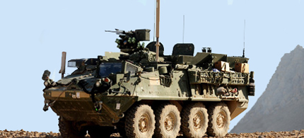A General Dynamics employee working on the Stryker project resigned in protest. (photo: army.gov)