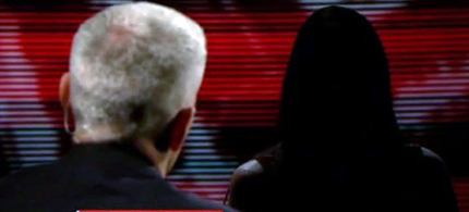 Anderson Cooper interviews juror B37. (photo: CNN)
