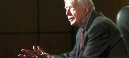 Former U.S. President Jimmy Carter. (photo: Reuters)