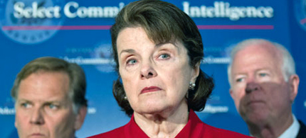 Sen. Dianne Feinstein defends the NSA spy programs. (photo: Getty Images)