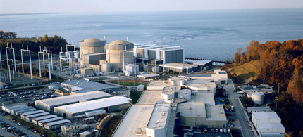 EDF is selling its stake in Calvert Cliffs Nuclear Power Plant in Maryland. (photo: NRC)
