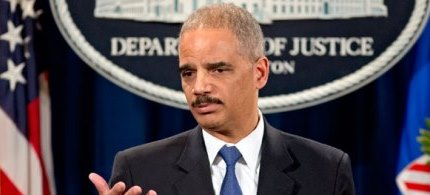 Attorney General Eric Holder. (photo: AP)