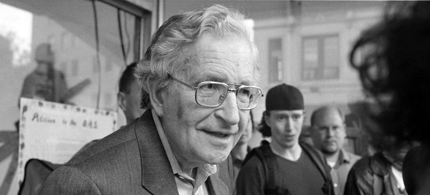 America's leading intellectual, Professor Noam Chomsky. (photo: MIT)