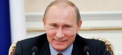 Russian President Vladimir Putin. (photo: YANA LAPIKOVA/AFP/Getty Images)