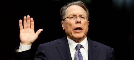 Wayne LaPierre. (photo: Kevin Lamarque/Reuters)