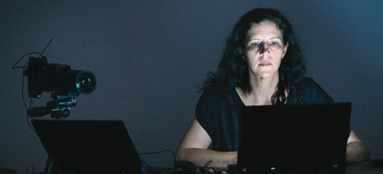 Laura Poitras, an American documentary film maker, has been instrumental in exposing NSA surveillance programs. (photo: Olaf Blecker)