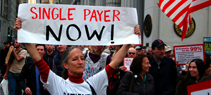 Are we on the path to single payer health care? (photo: Occupy Wall Street)