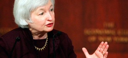 Janet Yellen has been tapped to lead the Federal Reserve. (photo: Mark Lennihan/AP)