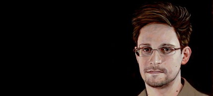 Edward Snowden. (artwork: Robert Shetterly)
