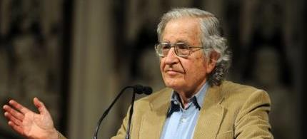 America's leading intellectual, Professor Noam Chomsky. (photo: unknown)
