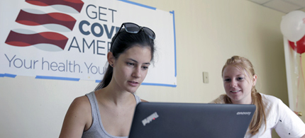 Right now people have until March 31, 2014 to sign up for insurance. (photo: AP)