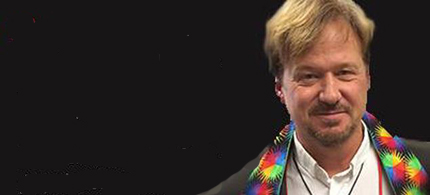 Rev. Frank Schaefer wore a rainbow stole during the penalty phase of his church trial. He received a 30-day suspension. (photo: Cathy Husid-Shamir)