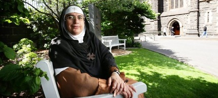 Mother Agnes has lived in Syria for 20 years. (photo: unknown)