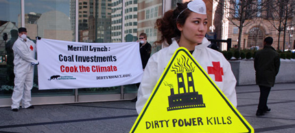 Is coal becoming a bad investment? (photo: Jonathan McIntosh/Rainforest Action Network)