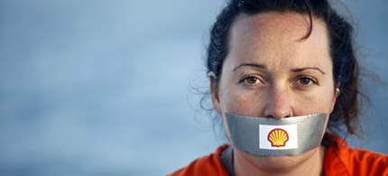 Environmentalists in Nigeria are being silenced. (photo: Greenpeace)