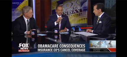 Fox News is obsessed with Obamacare. (photo: Fox News)