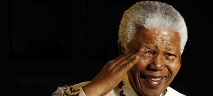 Nelson Mandela, died today at age 95. (photo: Joe Alexander/AFP/Getty Images)