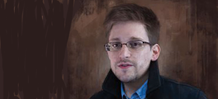 Edward Snowden. (illustration: Jason Seiler/TIME)