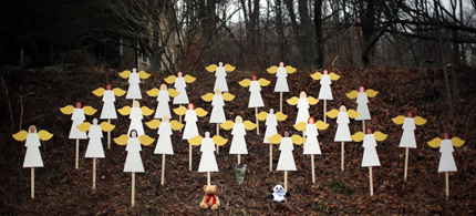 Newtown's Angels. (photo: AP)