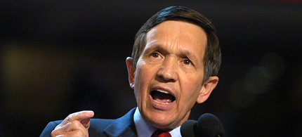 Former Congressman Dennis Kucinich. (photo: AP)