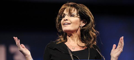 Sarah Palin speaking at the 2013 CPAC convention. (photo: AP)