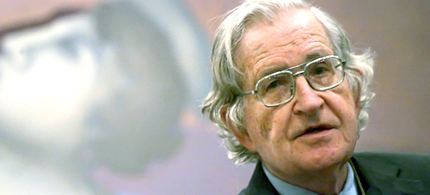 Professor Emeritus Noam Chomsky of MIT. (photo: EPA)