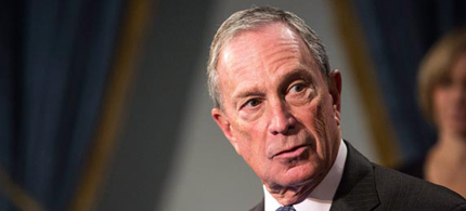 Mayor Bloomberg. (photo: Andrew Burton/Getty Images)