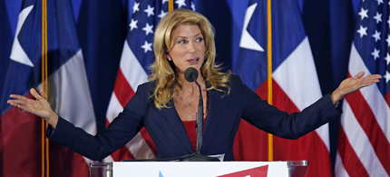 Texas State Senator Wendy Davis. (photo: AP)