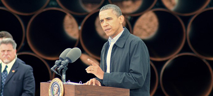 Are we one step closer to Obama green lighting the keystone pipeline? (photo: AP)