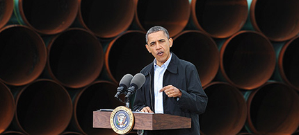 Will Obama approve the Keystone Pipeline? (photo: Getty Images)
