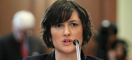 Should Sandra Fluke have been the choice to replace Henry Waxman? (photo: Getty Images)