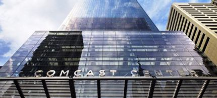 The Comcast Center in downtown Philadelphia. (photo: unknown)