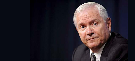 Former US Defense Secretary Robert Gates. (photo: EPA)
