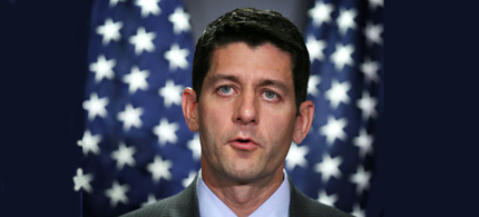 Rep. Paul Ryan, biggest fake in American politics? (photo: Alex Wong/Getty Images)