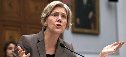 Senator Elizabeth Warren thinks student loan debt is hurting an entire generation of Americans. (photo AP)
