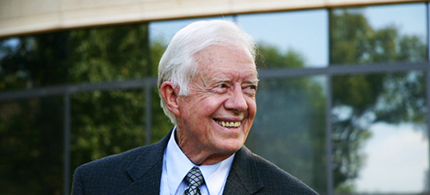 Former president Jimmy Carter. (photo: Sara Saunders/The Carter Center)