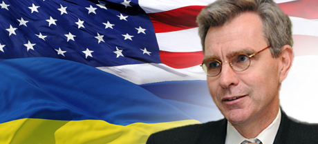 Geoffrey R. Pyatt, is the current United States Ambassador to Ukraine. (illustration: AP)