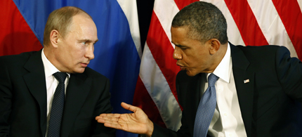 Is the media creating conflict between Putin and Obama? (photo: Reuters)