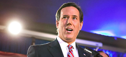 Rick Santorum. (photo: unknown)