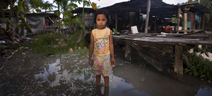Climate change is already a threat to human life according to a new UN report. (photo: Reuters)