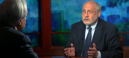 Economist Joe Stiglitz appearing on Moyers & Company. (photo: Moyers & Company)