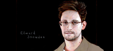 Portrait detail of Edward Snowden. (photo: Robert Shetterly/americanswhotellthetruth.org)