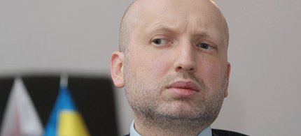 Oleksandr Turchynov. (photo: Twitter)