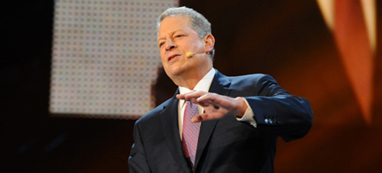 Al Gore didn't hold back about his feelings on the NSA's surveillance practices. (photo: Getty Images)