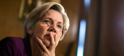 Senator Elizabeth Warren. (photo: Drew Angerer/Getty Images)