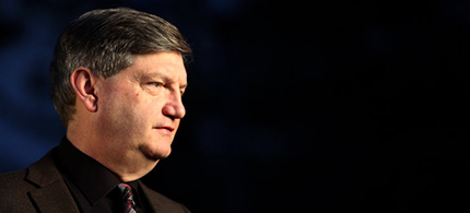 James Risen, a reporter for The New York Times, spoke at an event at the University of California, Berkeley, in November. (photo: Alex Menendez/AP)