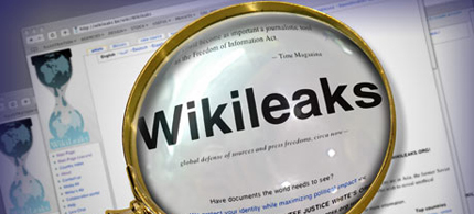 Wikileaks. (image: Guardian UK)